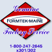 Genuine Formtek-Maine Factory Service and Support