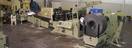 New Cooper-Weymouth, Peterson press feed line ready to go into service after installation